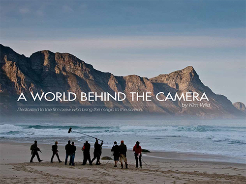 A world behind the camera the book